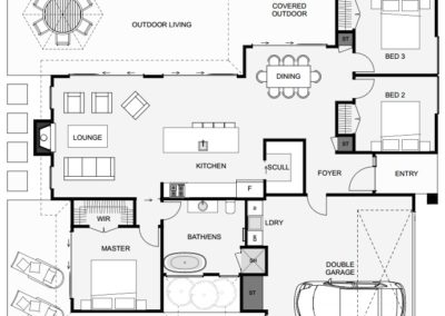 mission bay house plan